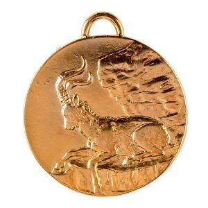 Medalla para homologación de Macho montés