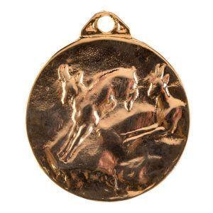 Medalla para homologación de trofeo de caza rebeco