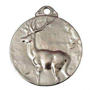 Medalla de homologación para trofeo de caza venado