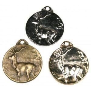 Medallas de homologación de ciervo