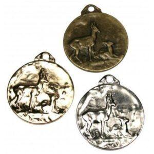Medallas de homologación para corzo