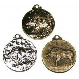 Medallas para homologación de jabalí