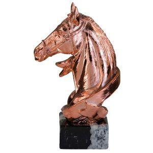 Figura de decoración con caballo
