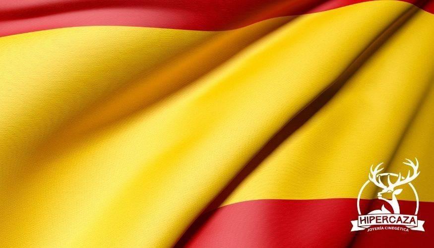 Pulseras con la bandera española