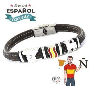 Pulseras con bandera de España